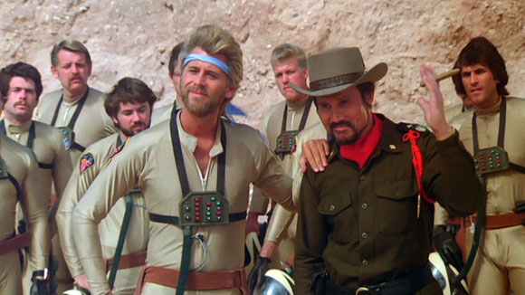 Megaforce - Barry Bostwick and Henry Silva