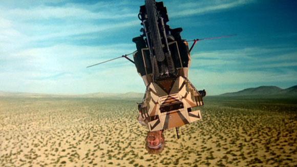 Megaforce - Upsidedown Flying Motorcycle