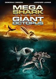 Mega Shark Versus Giant Octopus - Cover