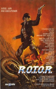 R.O.T.O.R 1988 Video Cover