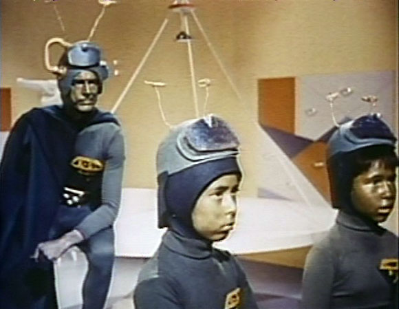 Martians watch Earth TV