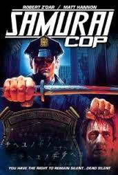 Samurai Cop - Video Cover