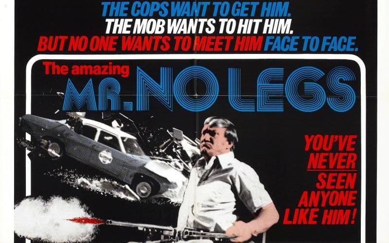 AMAZING MR NO LEGS Movie Poster 1979 Exploitation