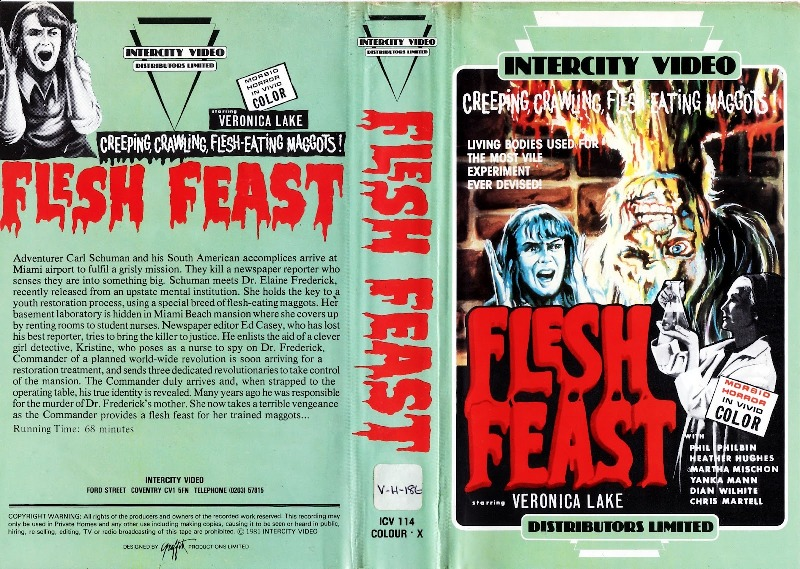 Flesh Feast UK Intercity Video Distributors Limited VHS_crop