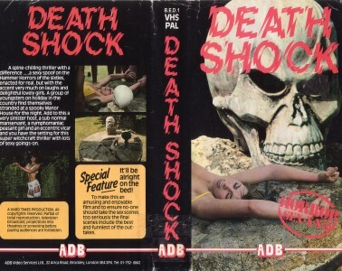 Death Shock - Bad Movie VHS Cover