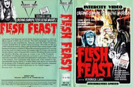 Flesh Feast VHS Video Cover