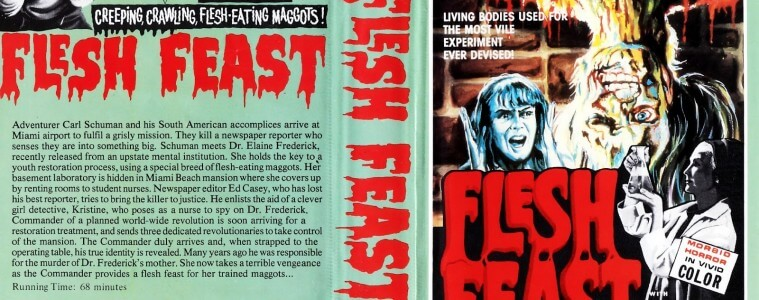 Flesh Feast VHS Video Cover