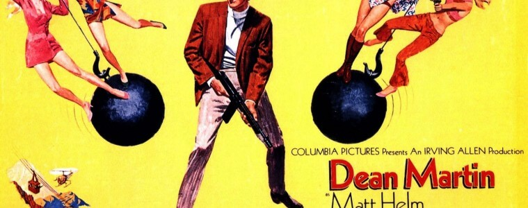 Matt Helm - The Wrecking Crew Movie Poster