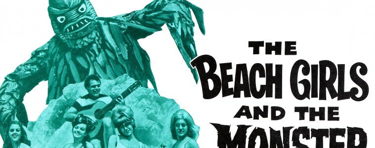 The Beach Girls And The Monster - Poster - Bad Movie