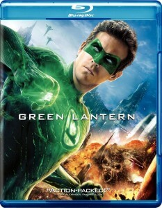 Green Lantern Blu Ray Cover