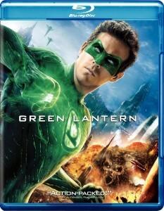 Green Lantern Blu Ray Cover