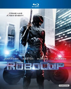 Robocop - 2014 - Blu Ray Cover